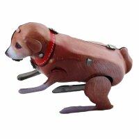 Blechspielzeug - Hüpfender Hund aus Blech - Tommy...