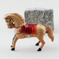 Tin toy - collectable toys - Horse - brown-light brown