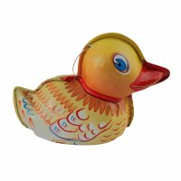 tin trinket - collectable toys - Duck