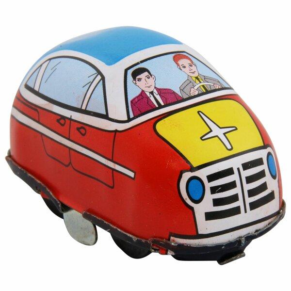Blechspielzeug - Blechauto - Car Highway - rot - passend für Spielbahn
