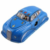 Tin toy - collectable toys - Police Car - blue