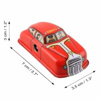 Tin toy - collectable toys - Fire Car - red