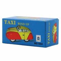 Tin toy - collectable toys - Taxi - yellow-orange
