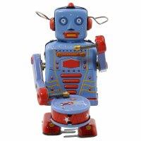 Robot - Tin Toy Robot - Robot with drum