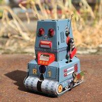 Roboter - Robot R 1 - grauer Blechroboter