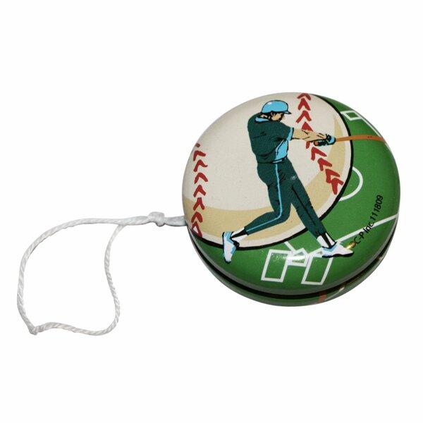 Blechspielzeug - Jojo aus Blech - Baseball