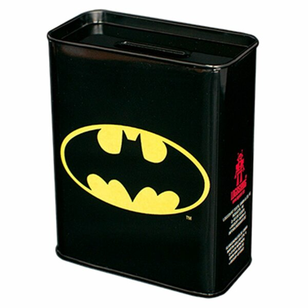 Blechspardose - Batman - Logo - Spardose aus Blech